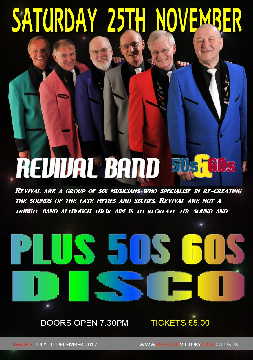 Revival 50s 60s show band